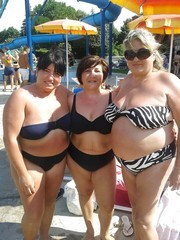 Big mature whores on the american beach