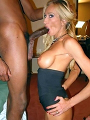 Busty wives cheaters chase for black..