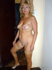Fifty-year-whore with a good figure and..