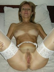 Horny milfs and sexy matures posing nude