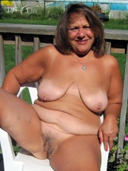 Thick seventy grandmother completely..