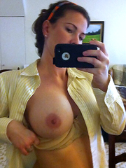 Sexy MILFs shoting their boobs on cell..