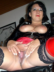 Dripping mature vaginas