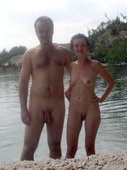Charming and naked American housewives,..