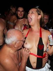 Key west, Cap d'Agde, nude festival