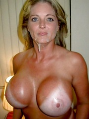 Adorable MILF with big solid tits just..
